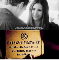 [6x22-8x16| ic: tvdveins] This is so sad omfg ;( — Elena or Stefan?: I can't wait to find out what new life you've chosen  for yourself in sixty or secenty years when lsee you again.  SIMPLYTVD  STE  0 [6x22-8x16| ic: tvdveins] This is so sad omfg ;( — Elena or Stefan?