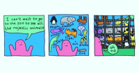 Animals, Baseball, and Memes: I can't wait to go  to the zoo to see all  the majestic animals) | pengwin elepha-苎..  octoPus  oo an graffe  no (artist: @dorrismccomics) everyone has wildly different opinions on baseball caps, what do y'all think about them?