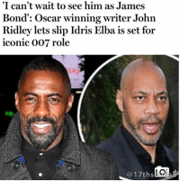 "Repost @17thsoulja5 move9 move themove moveorginization westphiladelphia somethingsneverchange onthemove cornelwest mumiaabujamal hate5six philadelphia knowledgeispower blackpride blackpower blacklivesmatter unite panafricanrootsmove blackhistorymonth: ""I can't wait to see him as James  Bond: Oscar winning writer John  Ridley lets slip Idris Elba is set for  iconic 007 role  17ths  as Repost @17thsoulja5 move9 move themove moveorginization westphiladelphia somethingsneverchange onthemove cornelwest mumiaabujamal hate5six philadelphia knowledgeispower blackpride blackpower blacklivesmatter unite panafricanrootsmove blackhistorymonth"
