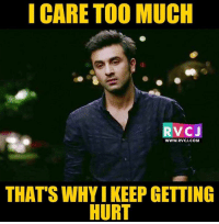 i care too much