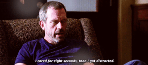 https://iglovequotes.net/: I cared for eight seconds, then I got distracted. https://iglovequotes.net/