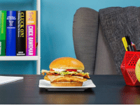 In lunch, like life, there's always room for improvement — a Homestyle Asiago Ranch Chicken Club is a delicious step up.: I CHICK BAWKMAN  CLUCK ON! In lunch, like life, there's always room for improvement — a Homestyle Asiago Ranch Chicken Club is a delicious step up.