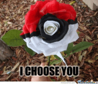 Memes, Pokemon, and 🤖: I CHOOSE YOU  iMametenuer  meme center Com Romance level: Pokemon <3