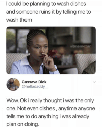 Doing The Dishes Meme