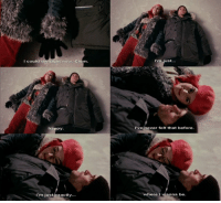 Happy, Eternal Sunshine of the Spotless Mind, and Mind: I could die right now. Clem  happy.  I'm just exactly...  I'm just...  I've never felt that before.  where I  wanna be. Eternal Sunshine of the Spotless Mind