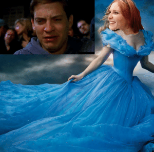I cried like a baby when you played Cinderella: I cried like a baby when you played Cinderella
