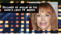 Memes, 🤖, and Gilligans Island: i DECLINED TO APPEAR IN THE  How's LATER TV MoviES Wishing Gilligan's Island star Tina Louise a very Happy 83rd Birthday!