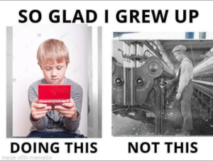 "I don't see what's so good about ""the good old days"" boomers talk about by ImTheSuspekt MORE MEMES: I don't see what's so good about ""the good old days"" boomers talk about by ImTheSuspekt MORE MEMES"