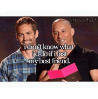 Best Friend, Memes, and Best: i donit know what  ild do ifilost  my best friend.