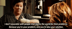 https://iglovequotes.net/: I don't associate with people that blame the world for their problems.  Because you're your problem, and you're also your solution. https://iglovequotes.net/