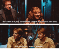 Quote of the Day ~Dobby: I don't believe it! oh, Ron, how wonderf  A prefect! That's everyone in the family!  u! What are  Fred and l, next-door neighbours Quote of the Day ~Dobby