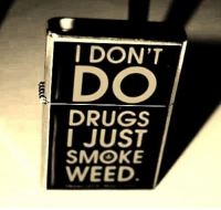 Don T Do Drugs: I DON'T  DO  DRUGS  I JUST  SMOKE  WEED