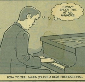 How To, MeIRL, and How: I DON'T  ENJOY THIS  AT ALL  ANYMORE  HOW TO TELL WHEN YOU'RE A REAL PROFESSIONAL meirl