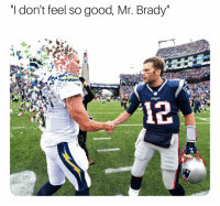 "You're all right. https://t.co/FtSwOqQRgY: ""I don't feel so good, Mr. Brady You're all right. https://t.co/FtSwOqQRgY"