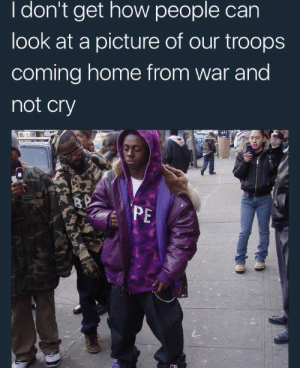 Home, Michael, and Coming Home: I don't get how people can  look at a picture of our troops  coming home from war and  not cry  PE Its Weezy F. Baby and the F is for First Infantry Division, Major General Dwayne Michael Carter Jr.