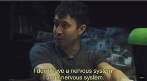 Memes, 🤖, and System: I don't have a nervous system.  l am a nervous system.