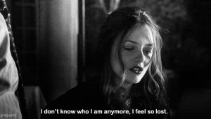 Lost, Who, and I Dont Know: I don't know who I am anymore, I feel so lost.  plagued
