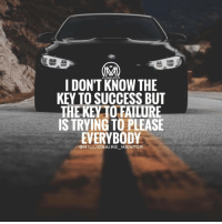 You can't please everyone. The best thing you can do is just to believe in yourself and do what you think is right for you. millionairementor: I DON'T MILLIONAIRE MENTOR  THE  KEY TO SUCCESS BUT  THE KETO FAILURE  IS TRYING TO PLEASE  EVERYBODY  @MILLIONAIRE MENTOR You can't please everyone. The best thing you can do is just to believe in yourself and do what you think is right for you. millionairementor