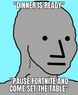 I dont play fortnite but this still hit home for me: I dont play fortnite but this still hit home for me