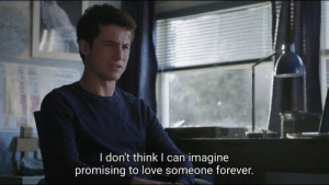 Love, Forever, and Can: I don't think I can imagine  promising to love someone forever