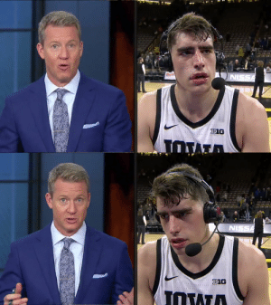 """""""I don't think it's just a Michigan thing, I attack every game the same way.""""  Hear from @LukaG_55 after his huge performance in tonight's win against No. 19 Michigan for @IowaHoops ⬇️ https://t.co/KpntdN2jxB: """"I don't think it's just a Michigan thing, I attack every game the same way.""""  Hear from @LukaG_55 after his huge performance in tonight's win against No. 19 Michigan for @IowaHoops ⬇️ https://t.co/KpntdN2jxB"""