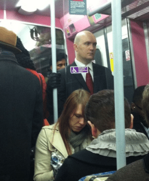 Train, Don, and Think: I dont think someone is getting off the train