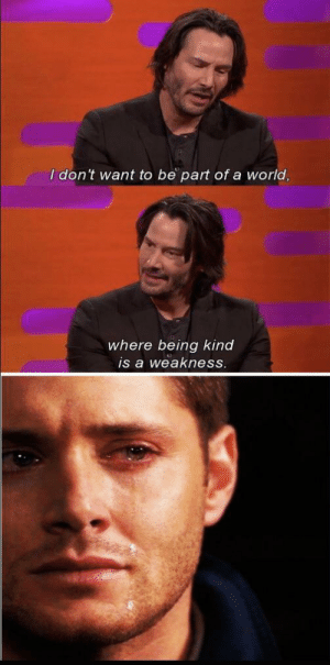 The hero we don't deserve by Parkingjas MORE MEMES: I don't want to be part ofa world,  where being kind  is a weakness. The hero we don't deserve by Parkingjas MORE MEMES
