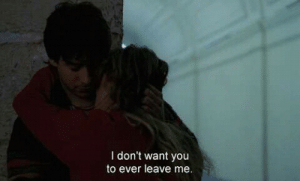 I Dont Want You: I don't want you  to ever leave me