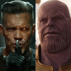 Movies, Marvel, and Marvel Movies: I feel like not enough attention is being given to the fact that Josh Brolin will be two separate major Marvel characters in two separate Marvel movies released two weeks apart