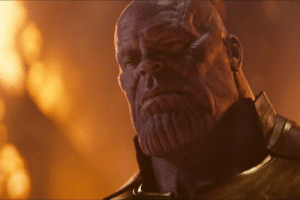 Movie, Sad, and Thanos: I feel sad and empty after this movie, and I can't even say Thanos is wrong at all