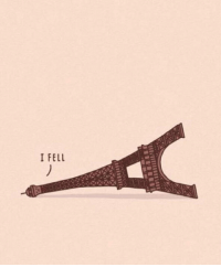 <p>The Magical I Fell Tower.</p>: I FELL <p>The Magical I Fell Tower.</p>