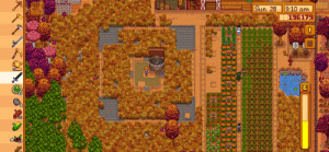 I fell asleep last night playing stardew, woke up to see this (I was out for 22 days ingame, bummed to miss cranberry and pumpkin season): I fell asleep last night playing stardew, woke up to see this (I was out for 22 days ingame, bummed to miss cranberry and pumpkin season)