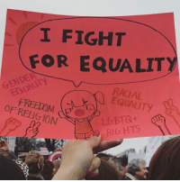 Thank you all so so much for the supportive messages. I'm so proud to have marched with you all, and with you all in spirit, at the Women's March in Washington. I was among so many strong individuals of all different colors, making a stand for equality, love, and our future. I hope we made it clear today that we will fight for our rights, and our voices will continue to be heard. womensmarch womensmarchonwashington equality lovetrumpshate: I FIGHT  FOR EQUALITY  GENDER  RACIAL  OF RELIGION  RIGHTS Thank you all so so much for the supportive messages. I'm so proud to have marched with you all, and with you all in spirit, at the Women's March in Washington. I was among so many strong individuals of all different colors, making a stand for equality, love, and our future. I hope we made it clear today that we will fight for our rights, and our voices will continue to be heard. womensmarch womensmarchonwashington equality lovetrumpshate