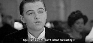 https://iglovequotes.net/: I figure life's a gift,I don't intend on wasting it. https://iglovequotes.net/