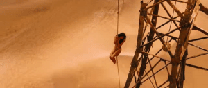 I finally just watched Mad Max: Fury Road (2015) for the first time. My buddy tells me it was pretty good, but I can't remember the last third of the film. I'm too focused on how I'm pretty sure I just witnessed this stunt double's on screen death due to fourth-degree rope-induced vagina burns.: I finally just watched Mad Max: Fury Road (2015) for the first time. My buddy tells me it was pretty good, but I can't remember the last third of the film. I'm too focused on how I'm pretty sure I just witnessed this stunt double's on screen death due to fourth-degree rope-induced vagina burns.
