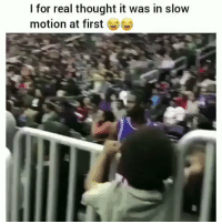 Memes, Slow Motion, and Thought: I for real thought it was in slow  motion at first https://t.co/NS7dr6Pnt6