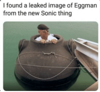 This one looks tricky: I found a leaked image of Eggman  from the new Sonic thing This one looks tricky