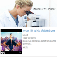 "<p>Possible investment? via /r/MemeEconomy <a href=""http://ift.tt/2z1w0tH"">http://ift.tt/2z1w0tH</a></p>: I found a new type of cancer  RiceGum-Frick Da Polie (Officl Music Video  RiceGum  day ago-5841,288views  Download on Appe Music.htp/lapple.co/2zMU Get My New Limited  dition Rice Shirt  NEW C  vevo  3:16 <p>Possible investment? via /r/MemeEconomy <a href=""http://ift.tt/2z1w0tH"">http://ift.tt/2z1w0tH</a></p>"