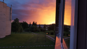 I found an old photo from my balcon, no filters or editing. i remember feeling that air is colored: I found an old photo from my balcon, no filters or editing. i remember feeling that air is colored