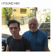 Him, I-Found-Him, and Found: I FOUND HIM hi