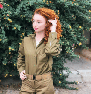 I found Princess Meridas doppelganger in the Israeli Army: I found Princess Meridas doppelganger in the Israeli Army