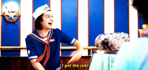 Target, Tumblr, and Blog: I got the job! harrington-steve: #When you finally got a job