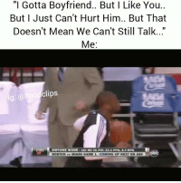"""Abc, Dwyane Wade, and Funny: """"I Gotta Boyfriend.. But I Like You..  But I Just Can't Hurt Him.. But That  Doesn't Mean We Can't Still Talk...""""  Me:  clips  DWYANE WADE-1atRDva Fill, 23.appu. R. HPU.-劐  BOSTON vs MIAMI GAME 1-COMING UP NEXT ON ABC  obc Hahahah im weak lol"""