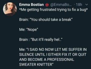 I guess I'll probably have to become a sweater knitter…: I guess I'll probably have to become a sweater knitter…