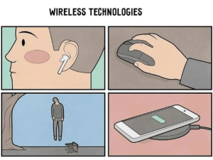 I guess it is wireless…: I guess it is wireless…