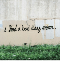 Bad, Bad Day, and Day: i had a bad day miam
