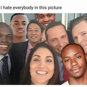 Bruh, Fuck, and Fuck That: I hate everybody in this picture ray ray needa die next epispde bruh fuck that nigga frfr