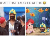 Memes, Smoking, and Snoop: I HATE THAT I LAUGHED AT THIS just Snoop Fishh smoking a blunt with Arielle via /r/memes https://ift.tt/2QG7vyt