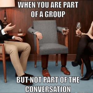 I hate those conversations!: I hate those conversations!