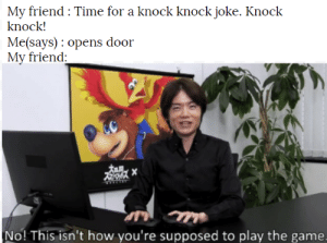 I hate those knock knock jokes: I hate those knock knock jokes